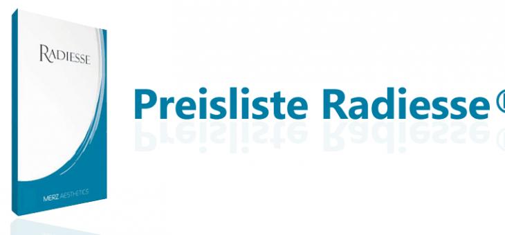 Radiesse® Preise