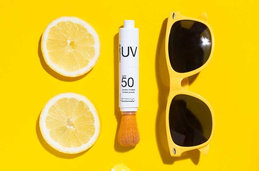 Video Sonnenschutzpuder