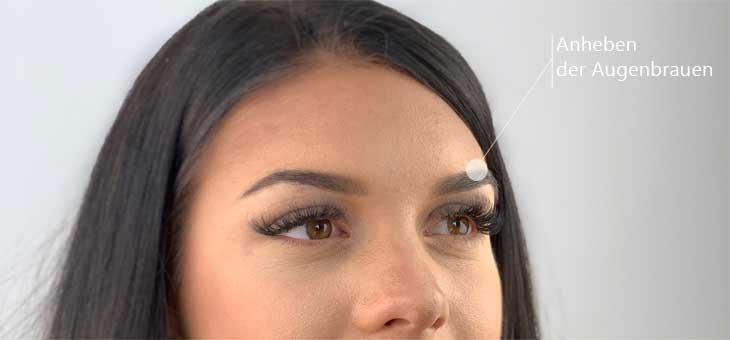 Brow Lifting mit Botox