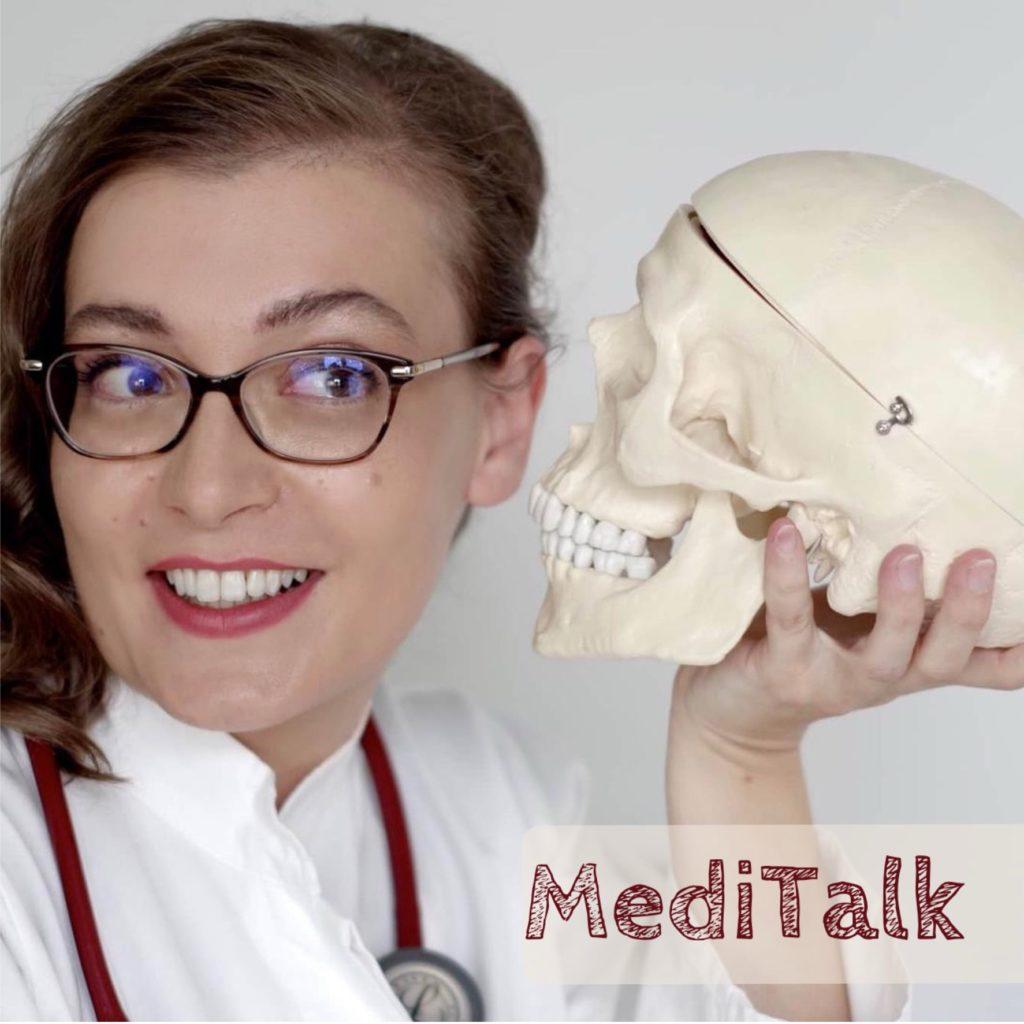 Coveer des Podcast MediTalk - Medizin für dich erklärt mit Frau Dr. Steidl