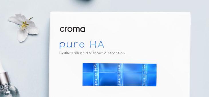 pure HA eine flüssige Gesichtsmaske mit Hyaluronsäure
